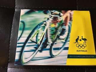 澳洲 紀念幣 Olympic 2016