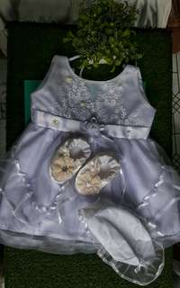 Complete attire for Christening