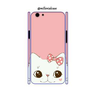 Premium cute cat hard/softcase(bs custom)