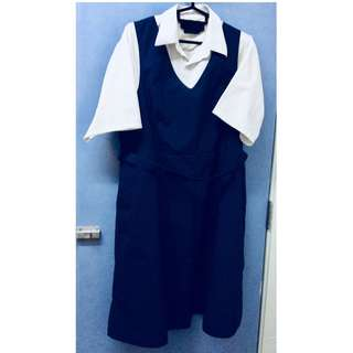 Primary School Uniform Pinafore XL