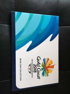 澳洲 紀念幣 Gold Coast Commonwealth Games 2018