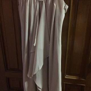 Forever 21/F21 sexy beige sleeveless dress