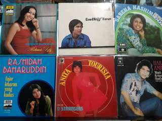 70s Malay Artiste EPs. Any 4 for $120