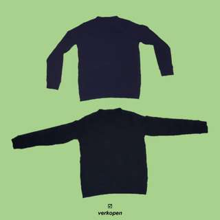 Uniqlo blue navy sweatshirt