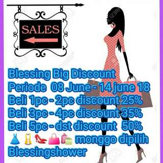 Blessing Big Discount