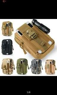 PN Tactical Molle Pouch Belt Waist Pack Bag Military Waist