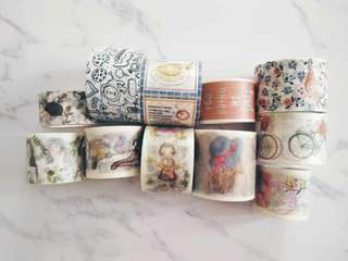 Normal sized washi tape in metres