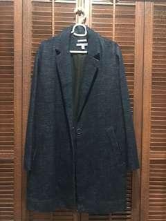 Zara Premium Denim Trenchcoat