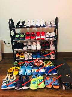 All authentic shoes