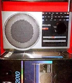 懷舊收音機 Philips Radio