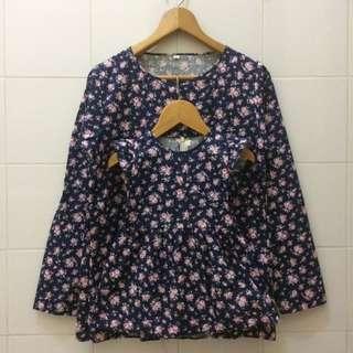 Mini flowly / Baju couple ibu dan anak / couple set mom and baby / family set / baju menyusui