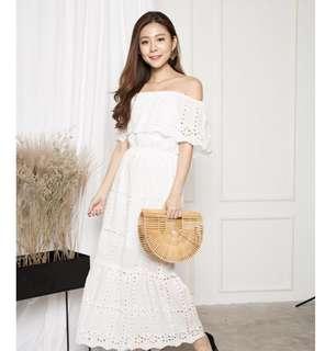 🌷(PO) Adalina 3 Ways Crochet Maxi Dress