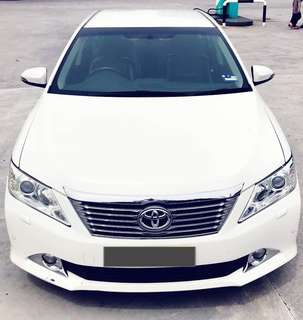SAMBUNG BAYAR/CONTINUE LOAN  TOYOTA CAMRY AUTO 2.0 G SPEC YEAR 2014 MONTHLY RM 1600 BALANCE 5 YEARS + ROADTAX FEB 2019 FULL SPEC PUSH START KEYLESS LEATHER SEAT ELECTRIC SEAT  DP KLIK wasap.my/60133524312/camry