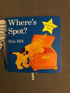 Where's spot (lift flap book)
