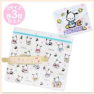 本週大特價日本🇯🇵PC狗pochacco一套6⃣️個密實袋收納袋*包郵