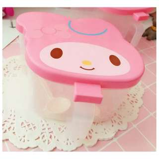 MY MELODY CONDIMENT BOX*HOLDER*SPICES*BUTTER*BOTTLE*STORAGE*DIVIDER*ORGANISER*FANCY*CUTE