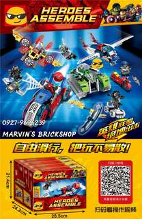 New Arrival Super Heroes Building Blocks Toys 4 Designs Available