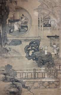 For sharing only, 喻兰清宫廷画师 1742-1809, dedicated artist at Imperial Court, works collected by 北京故宫博物院