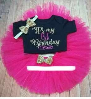 1st Birthday Tutu Skirt
