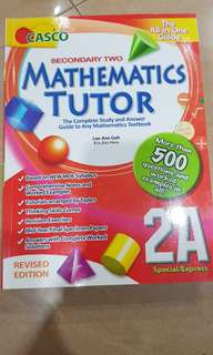Secondary 2 math book