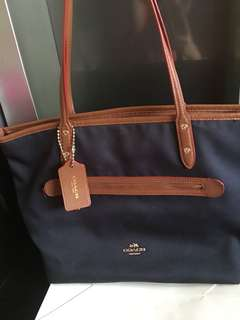 Coach totte bag