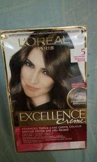 Cat rambut loreal paris excellence cream no.5 NEW