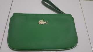 Lacoste wristlet wallet