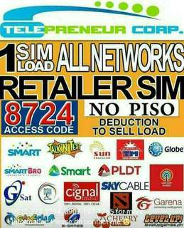 One sim Load All (no piso maintaining balance)