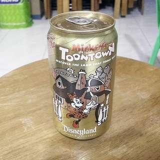 93年美國Mickey's Toonstown可口可樂紀念罐一個