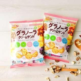 «Kimi Shop» 日本➜預購 日本TARANA燕麥奶油夾心餅