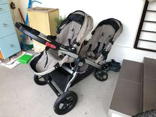 Baby Jogger City Select Double Sand color