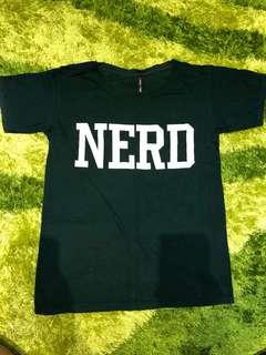 Nerd Green Shirt