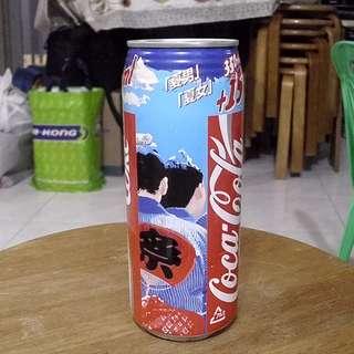 94年日本夏男夏女可口可樂活動罐一個
