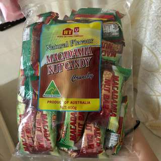 澳洲macadamia nut candy