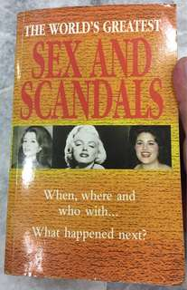 Sex and Scandals