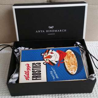 ANYA HINDMARCH Kellogs Frosties Clutch (New)