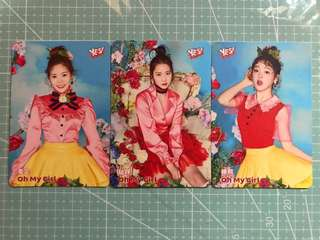 Yescard Oh My Girl