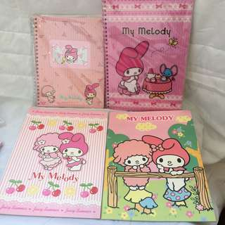My Melody筆記簿記事簿