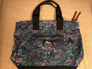 Gregory Tote Bag - Blue Tapestry