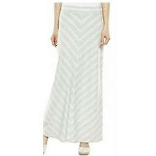 SONOMA Chevron Striped LIFE+STYLE Maxi Skirt
