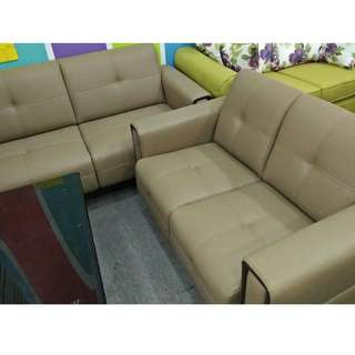 CASA LEATHER SOFA SET 2+3 (-6%GST)