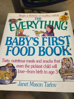 Baby First Food Book