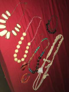 Necklace (6pcs )Take all for only 500