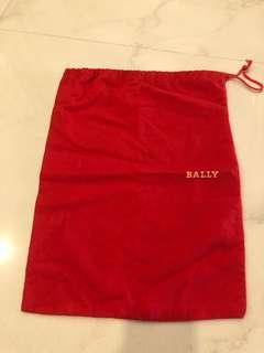 Unused Bally shoe dust bag