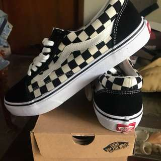 Vans Checkerboard Old School