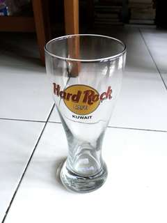 Beer Glass Hard Rock Cafe from Kuwait
