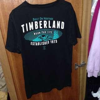 正版Timberland黑色短袖T恤長版上衣長版t恤