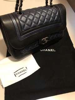 Chanel Duo Color Handbag