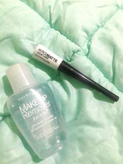 MAYBELLINE Package (Eyeliner & Remover)