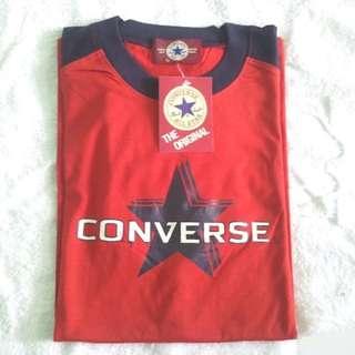 CONVERSE 深藍紅色T-shirt